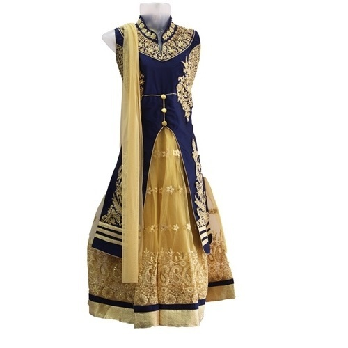 c726ff76544 Embroidered Ethnic Wear Bajirao Mastani Dress