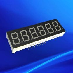 Seven Segment Clock Display