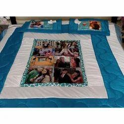 Handwash Cotton Printed Bed Sheet