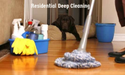 Washing Residential Deep Cleaning Service