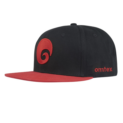 a16dd9d291d Red And Black Omtex Snapback Cap