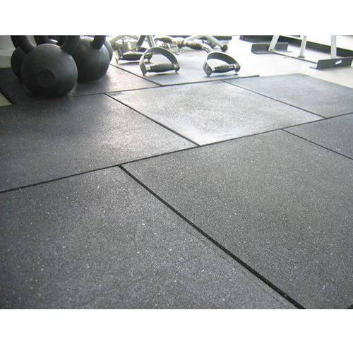 Rubber Gym Floor Mats, Shree Tirupati Rubber Products