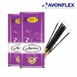 Plastic Incense Stick Packaging Pouch