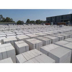 Solid Fire Resistant Fly Ash Block