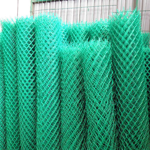 Pvc Chain Link Fencing For Industrial Rs 20 Square Feet