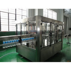 1000 L Semi Automatic Mineral Water Bottling Plant