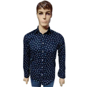Mens Printed Fitted Shirt
