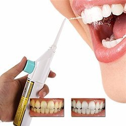 Portable Air Dental Hygiene Oral Irrigator Water Jet Cleaning Tooth Mouthpiece Denture Care