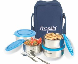 Freshia SS Insulated Tiffin Box for School, Office