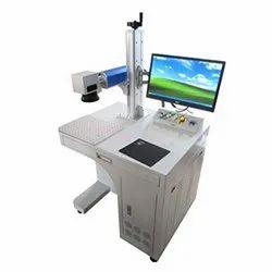 fiber laser Metal Marking Machine, Model Name/Number: Gt-30f, 0.6mm
