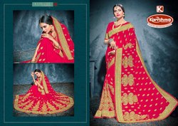 Bridal Wear Georgette Saree - Riwaaz-02
