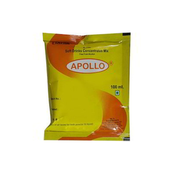 Apollo Soft Drink Concentrate, Packaging Type: Packet