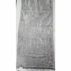 Polyester/Visocse Stripe Shawls