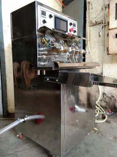 Pack Tech 8 Nozzle Bottled Shape Pouch Filling Machine