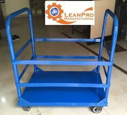 LM-MHT-350 Water Bottle Handling Trolley