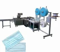 Sachidanand Disposable Medical mask making machine surgical face, Certification: Ce, Iso, Number of Layers: 3