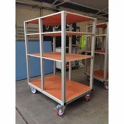 Movable  Aluminum Storage Rack