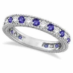 Tanzanite Diamond Eternity Ring