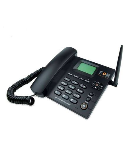Black For Dual SIM F1  GSM Fixed Landline Wireless Phone, Memory Size: 32 GB, Memory Size (gigabyte): 32
