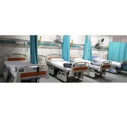 Steel + Plastic Hospital Furniture