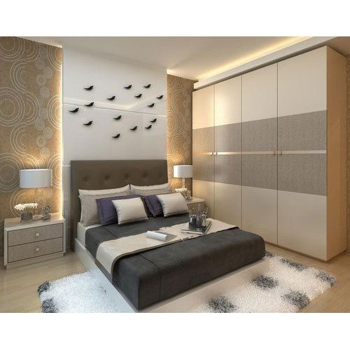 20 X 10 Wooden Bed Room Wardrobe Rs 20000 Unit Vysun Interiors Id 19545588430