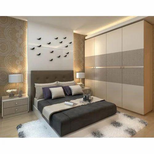 20 X 10 Wooden Bed Room Wardrobe Rs 20000 Unit Vysun Interiors Id 19545588430