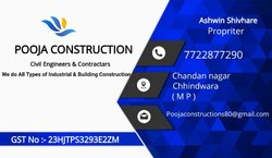 House construction service, in Madhay pardesh