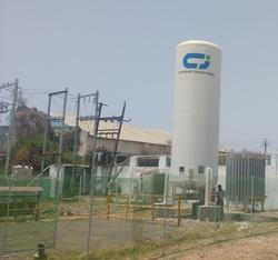 Vertical Cryogenic Storage Tank