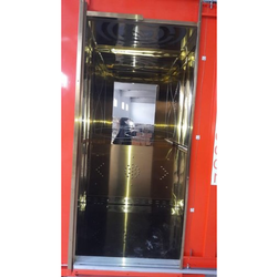 Stainless Steel Side opening Automatic Elevator Doors