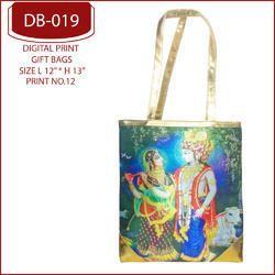 Radha Krishna Digital Print Bags