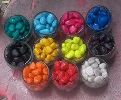Colored Decorative Pebbles