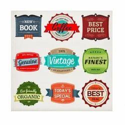 Food & Beverage Labels, Packaging Type: Roll
