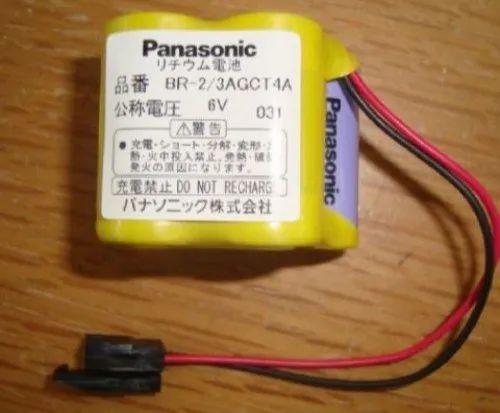 Panasonic BR-2/3AGCT4A 6V Battery