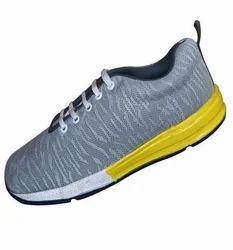 Men Gray/White/Yellow Dvs Player Sport Shoe, 10