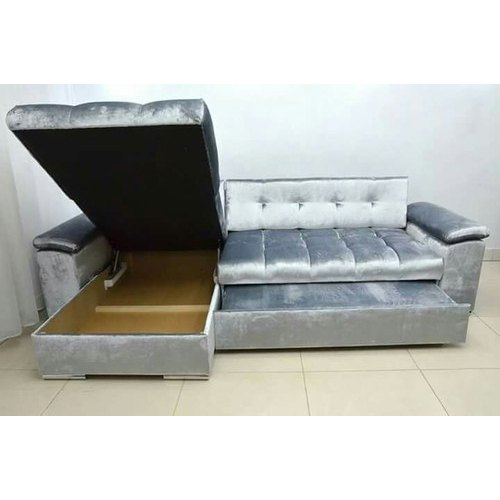 Sensational Modular L Shape Sofa Cum Bed Creativecarmelina Interior Chair Design Creativecarmelinacom