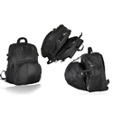 E156 - Laptop Backpack with Folding Helmet Case