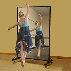 Portable Standing Rolling Mirror