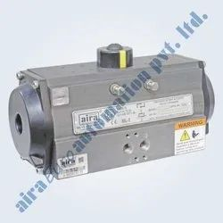 Pneumatic Rotary Rack & Pinion Actuator Double Acting