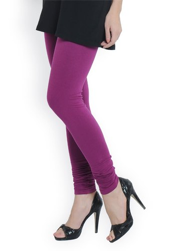 Churidar Plain Cotton Leggings
