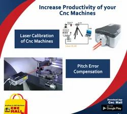 Laser Calibration Services for CNC Machines Jyoti Macpower Ace LMW BFW Cosmos CNC VMC Machines