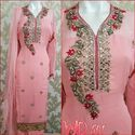 Georgette Party Wear Suit W-501