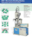 40 Ton Toggle Clamping Vertical Injection Moulding Machine