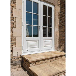 UPVC, Glass UPVC House Entry And Front Door, 10-20 Mm