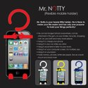 E128 - Mr. Notty Flexible Mobile Holder