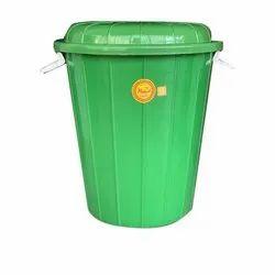 Mangal Kalash Water Green Plastic Storage Drum
