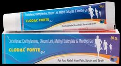 Pain Relief Gel (Clodec Forte Gel)