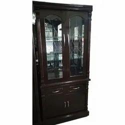 Reyo Wooden Double Door Almirah, For Home