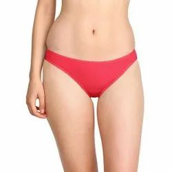 Ladies Red Plain Cotton Pantie, Size: 32 to 40, Packaging Type: Box
