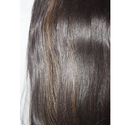 Black Golden Medium Straight Hair