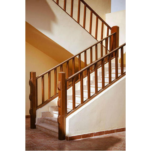 Wooden Stairs Railing